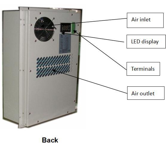 500w Dc48v Inverter Air Conditioner Industrial