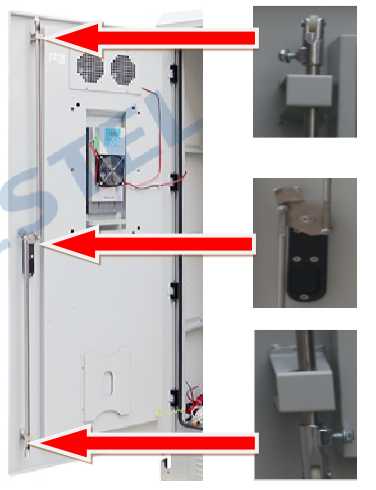 Four Stories Outdoor Battery Cabinet