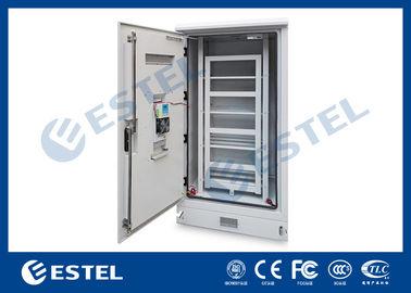 Dustproof  Rainproof Outdoor Battery Cabinet , Outside Base Station Cabinet