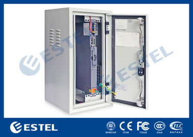 Heat Insulation Outdoor Wall Mounted Cabinet , Base Station Cabinet IP55
