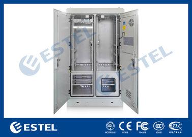 Six Doors Custom BTS Outdoor Cabinet Integrated With Exhaust Port Bottom