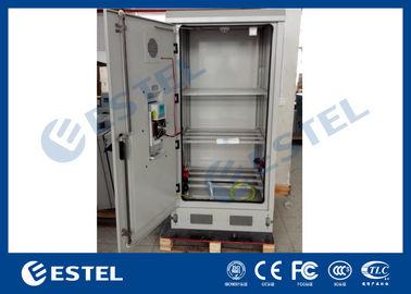 Heat Insulation PEF Battery Storage Cabinet Outdoor Rack Enclosure 3 Shelves Cooling