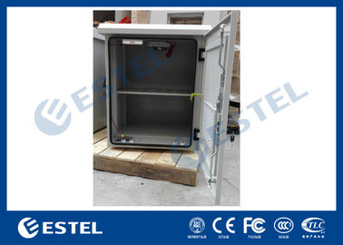 Battery Compartment Outdoor Wall Mount Cabinet With Auxiliary Direct Ventilation Fans