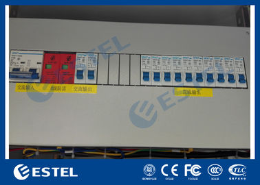 "AC / DC Power Distribution Unit With Various Circuit Breaker and SPD / 19"" Rack Mount PDU"