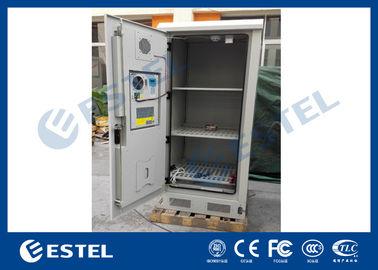 Weatherproof Battery Outdoor Electronics Cabinet Anti Corrosion Coating