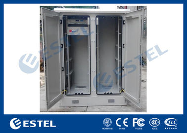 Dustproof Base Station Outdoor Communication Cabinets Low Power Consumption