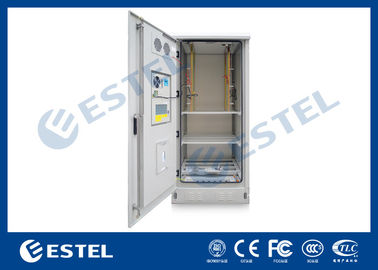 China Outdoor Power Cabinet / Battery Enclosure / IP55 19inch Rack Base Station Enclosure supplier