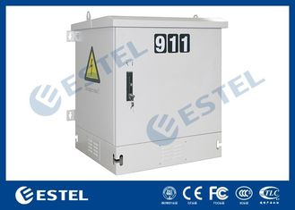 Single Wall Security Outdoor Electrical Enclosure Supporting Wall Mounted / Pole Mounted and Floor Mounted
