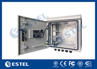China 9U Outdoor IP55 Pole Mounted Cabinet For Communication Base Station supplier