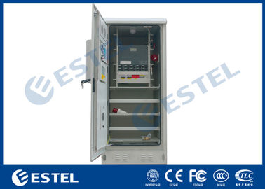 Temperature Control Outdoor Telecom Cabinet  IP55 Ingress Protection With Generator Socket