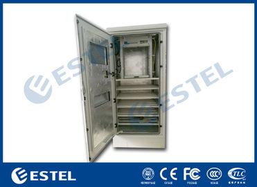 Aluzinc Coated Steel  Outdoor Electrical Enclosure Single Wall With Insulation