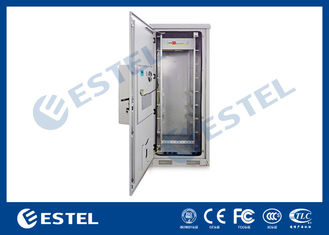 China Thermostatic Outdoor Telecom Cabinet Enclosure IP65 33U Galvanized Steel Material supplier