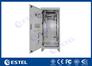 China Emerson Rectifier / Battery Outdoor Power Cabinet Sandwich Structure Panel IP55 supplier