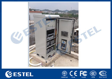 Air Conditioner Outdoor Battery Cabinet Integrated Galvanized Steel Ease Installation