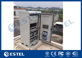 Galvanized Steel Outdoor Telecom Enclosure 1.5mm Thickness 19'' Easy Installation