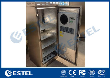 China 304 Stainless Steel Outdoor Telecom Cabinet IP55 Waterproof Corrosion Resistance supplier