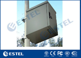 China Galvanized Steel Padlock Support IP55 Outdoor Telecom Cabinet supplier