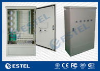 China Wall Mounted Outdoor Distribution Box Optic Fiber Cross Connect Cabinets company