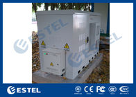 Anti-corrosion Outdoor Powder Coating Outdoor Base Station Cabinet With Heat Exchanger(HEX)