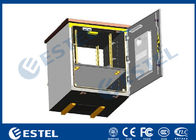 China Telecom Cabinet Pole Mount Enclosure Galvanized Steel Material Air Conditioner Cooling factory