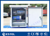 China Cold Rolled Steel Outdoor Power Cabinet , Telecom Equipment Cabinet Dustproof factory