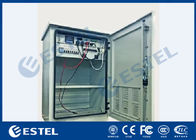 China Single Wall Outdoor Equipment Cabinet IP55 High Reliablity With Power System Battery factory