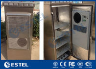 Stainless Steel Outdoor Telecom Cabinet IP55 Waterproof Corrosion Resistance