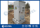 One Compartment Outdoor Telecom Cabinet IP55 Galvanized Steel Double Wall