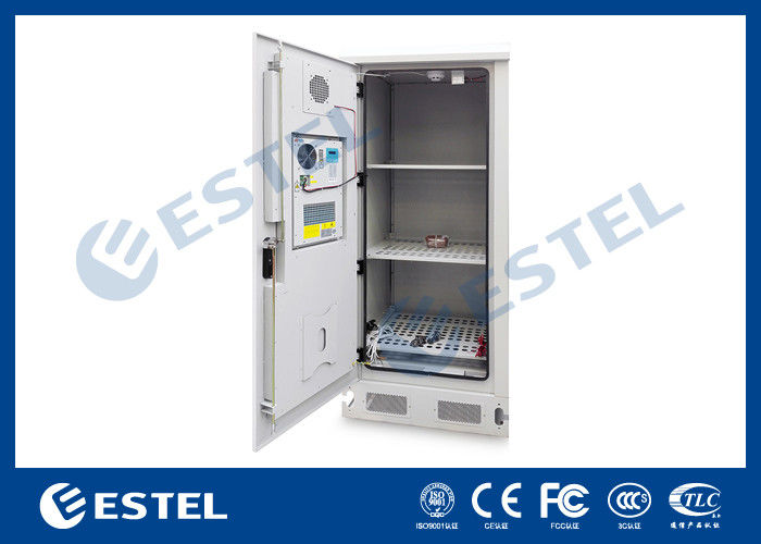Battery Heat For Outside : Heat exchanger cooling outdoor battery cabinet