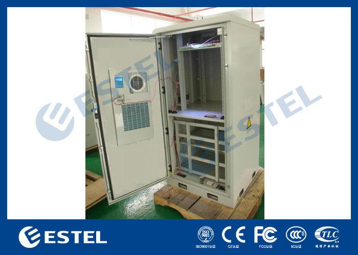 Sandwich Panel Outdoor Power Supply Cabinet Galvanized Steel
