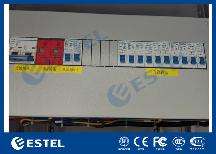 Communication Cabinets AC / DC Power Distribution Cutomized With Flexible  Mode