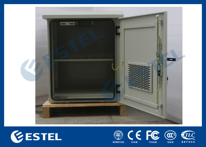Waterproof Anti Theft Outdoor Wall Mounted Cabinet For Installing Battery /  Equipment