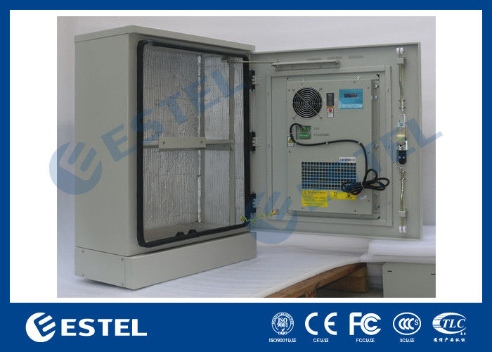 Stainless Steel Outdoor Telecom Cabinet With Cooling System Air