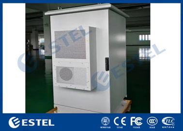 China Air Conditioner Cooling Outdoor Telecom Enclosure IP65 Double Wall With Insulation factory