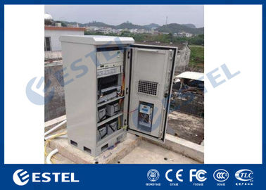China Galvanized Steel Outdoor Telecom Enclosure 1.5mm Thickness 19'' Easy Installation factory